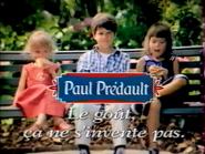 Paul Predault RL TVC 1998