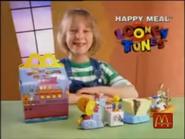 McDonald's Roterlaine Looney Tunes Happy Meal TVC 1996
