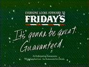TGI Friday's TVC Christmas 1994