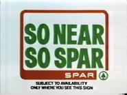 Spar AS TVC 1980