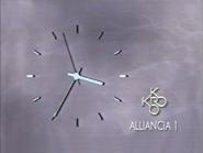Alliancia 1 KRO clock 1989
