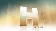 Jornal Hoje 45 years open 2016