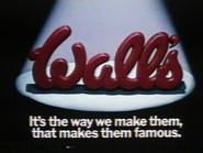 Wall's Pork Sausages AS TVC 1982