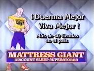 Mattress Giant URA Spanish TVC 1994