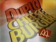 McDonalds Double Cheeseburger PS TVC 1997 1