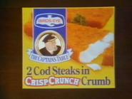 Birds Eye 2 Cod Steaks in Crisp Crunch Crumb AS TVC 1985