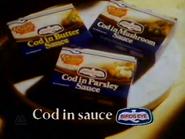 Birds Eye Cod In Sauce AS TVC 1982