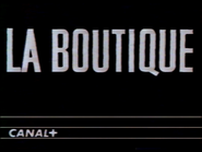 Canal Plus bumper - La Boutique - 1988