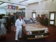 Vauxhall Opel AS TVC 1982