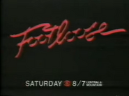 CBS promo - Footloose movie - 12-21-1987