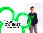 Disney Channel - Jake Thomas wearing a four leaf clover shirt