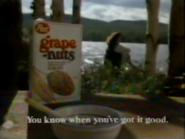 Post Grape Nuts TVC - September 7, 1986