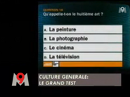 Canal Plus ID - Zapping screenshot - M9 - Culture Generale - Le Grand Test