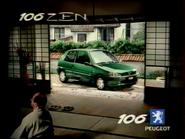 Peugeot 106 Zen RL TVC 2000