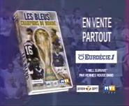 Les Bleus Champions du Monde VHS TVC 2000