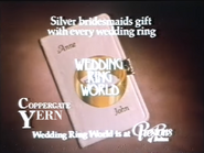 Wedding Ring World AS TVC 1985