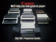 Canon Copiers AS TVC 1983