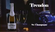 Comercial champagne trendon 1980