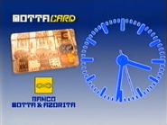TN1 clock - MottaCard and Banco Motta - 1993