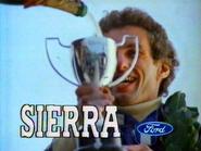 Ford Sierra AS TVC 1985