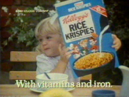 Kelloggs Rice Krispies AS TVC 1982 2