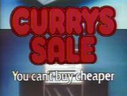 Currys AS TVC - Currys Sale - 1982