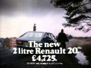 Renault 20 AS TVC 1977