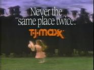 TJ Maxx TVC 5-15-1988