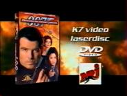 Tomorrow Never Dies VHS DVD Laserdisc RL TVC 1998
