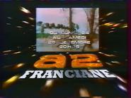 Antenna 2 promo - Franciane - Xmas 1984