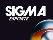 Sigma Esporte sign off slide 1986 - larger white logo