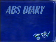 ABS A3 pre promo ID - ABS Diary - 1986