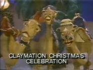 CBS promo - Claymation Christmas Celebration - 12-21-1987