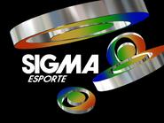 Sigma Esporte sign off slide 1985 (20 years)