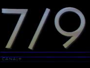 Canal Plus bumper - 7 9 - 1984