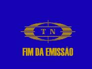TN fim de emissao slide - 1980
