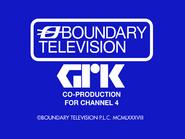 Boundary GRK C4 endcap 1988