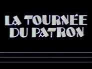 C Plus bumper - La Tournee du Patron - 1984