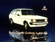 Chrysler Sunbeam AS TVC 1977