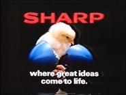 Sharp AS TVC 1985