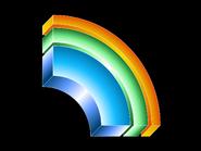 Telecord half rainbow