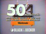 Black and Decker RLN TVC 1990