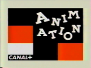 Canal Plus bumper - Animation - 1995