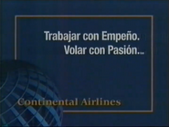 Continental Airlines TVC 2000 Spanish