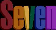 Seven wordmark 1992