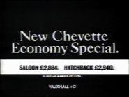 Vauxhall Chevette AS TVC 1980