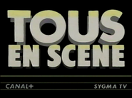 Canal Plus bumper - Tous En Scene - 1984
