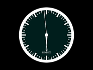 ECN Rolex clock - 1976