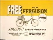 Ferguson bike giveaway AS TVC 1983