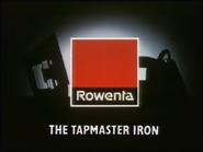 Rowenta Tapmaster Iron AS TVC 1986